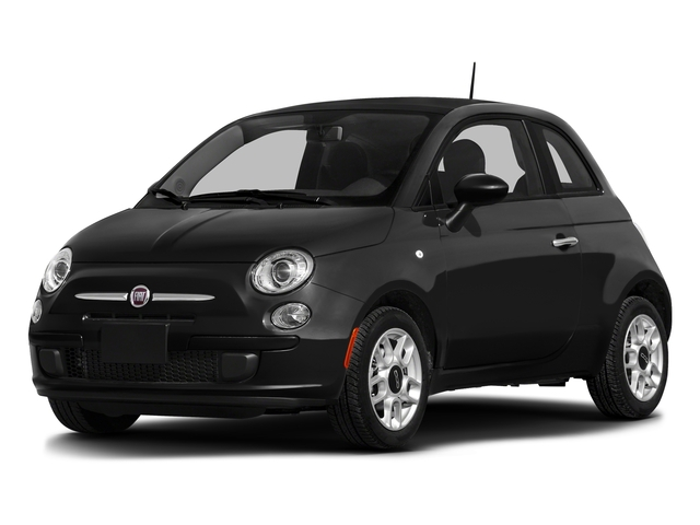 Nero Puro (Straight Black) 2016 FIAT 500 Pictures 500 Hatchback 3D Lounge I4 photos front view