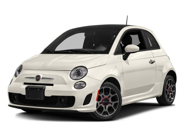 Bianco (White) 2016 FIAT 500 Pictures 500 Hatchback 3D I4 Turbo photos front view