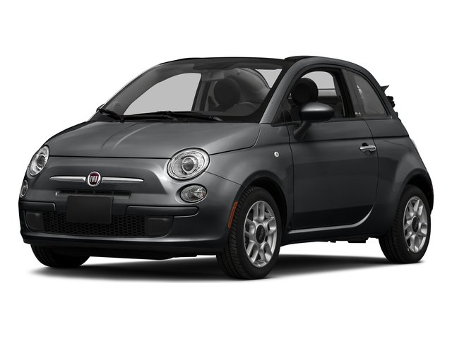 Granito Lucente (Granite Crystal) 2016 FIAT 500c Pictures 500c Convertible 2D Lounge I4 photos front view
