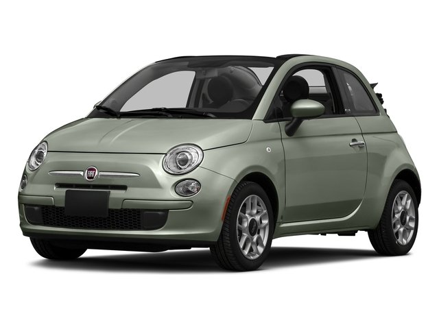 Verde Chiaro (Light Green) 2016 FIAT 500c Pictures 500c Convertible 2D Easy I4 photos front view