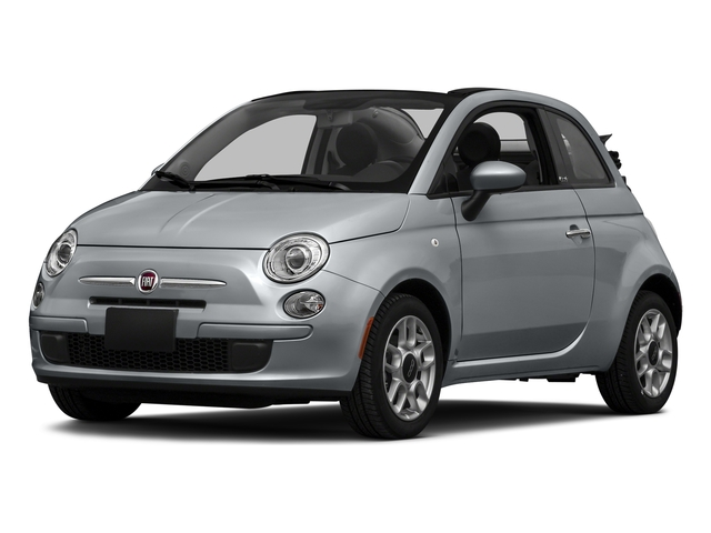 Billet Argento (Silver) 2016 FIAT 500c Pictures 500c Convertible 2D Lounge I4 photos front view