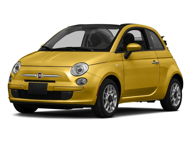 Giallo Moderna Perla (Pearl Yellow TC) 2016 FIAT 500c Pictures 500c Convertible 2D Lounge I4 photos front view