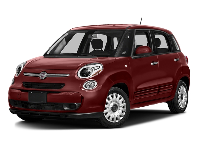 Rosso Perla (Deep Lava Red Pearl) 2016 FIAT 500L Pictures 500L Hatchback 5D L Lounge I4 Turbo photos front view