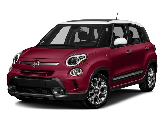 Rosso Perla (Deep Lava Red Pearl) 2016 FIAT 500L Pictures 500L Hatchback 5D L Trekking I4 Turbo photos front view