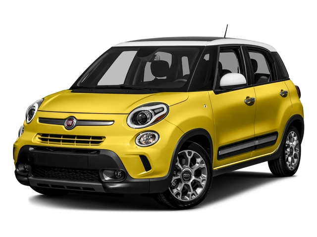 Giallo (Yellow) 2016 FIAT 500L Pictures 500L Hatchback 5D L Trekking I4 Turbo photos front view