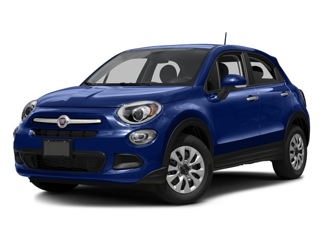 Blu Venezia (Blue Metallic) 2016 FIAT 500X Pictures 500X Utility 4D Easy 2WD I4 photos front view