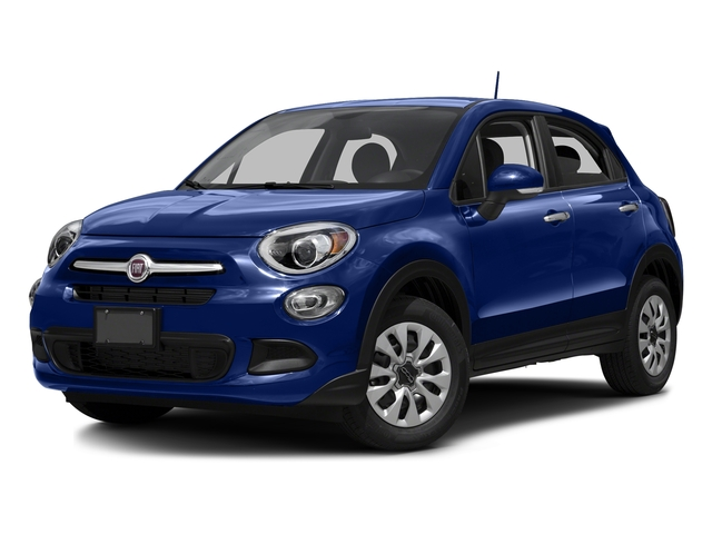 Blu Venezia (Blue Metallic) 2016 FIAT 500X Pictures 500X Utility 4D Trekking Plus 2WD I4 photos front view
