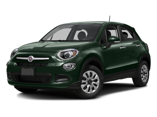 Verde Toscana (Green Metallic) 2016 FIAT 500X Pictures 500X Utility 4D Easy 2WD I4 photos front view