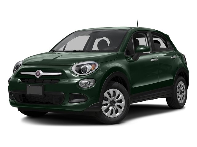 Verde Toscana (Green Metallic) 2016 FIAT 500X Pictures 500X Utility 4D Trekking Plus 2WD I4 photos front view