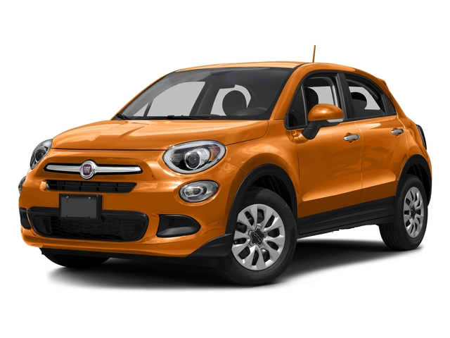 Arancio (Orange) 2016 FIAT 500X Pictures 500X Utility 4D Easy 2WD I4 photos front view
