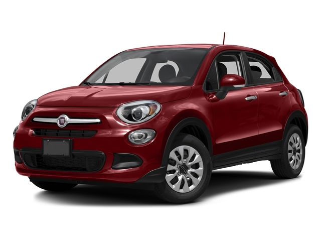 Rosso Passione (Red Hypnotique Clear Coat) 2016 FIAT 500X Pictures 500X Utility 4D Easy 2WD I4 photos front view