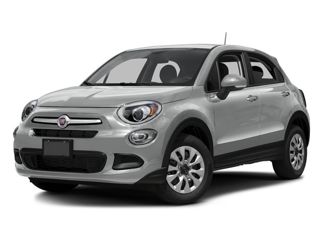 Grigio Argento (Gray Metallic) 2016 FIAT 500X Pictures 500X Utility 4D Easy 2WD I4 photos front view