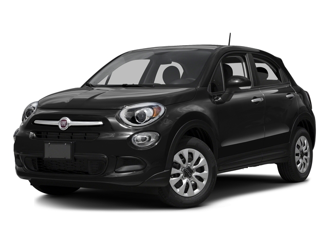 Nero Cinema (Black Clear Coat) 2016 FIAT 500X Pictures 500X Utility 4D Easy 2WD I4 photos front view