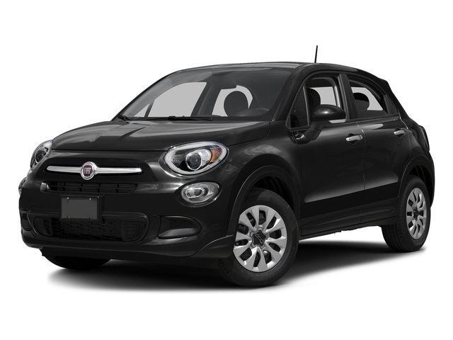 Nero Cinema (Black Clear Coat) 2016 FIAT 500X Pictures 500X Utility 4D Trekking Plus 2WD I4 photos front view