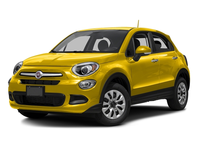 Giallo Tristrato (Tri-Coat Yellow) 2016 FIAT 500X Pictures 500X Utility 4D Easy 2WD I4 photos front view