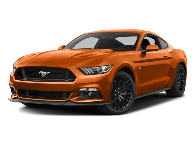 Competition Orange 2016 Ford Mustang Pictures Mustang Coupe 2D GT V8 photos front view