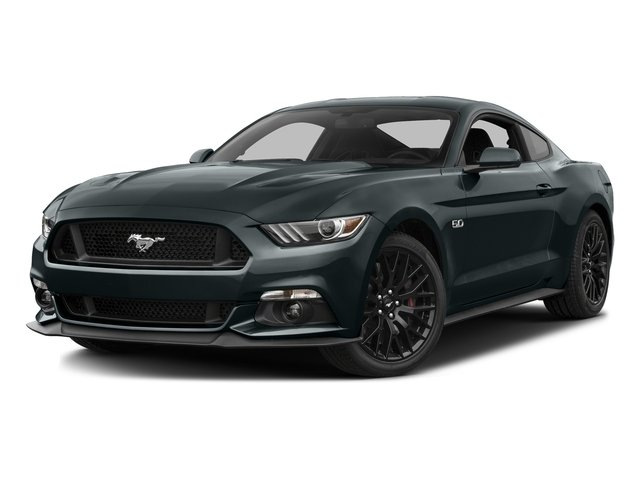 Guard Metallic 2016 Ford Mustang Pictures Mustang Coupe 2D GT V8 photos front view