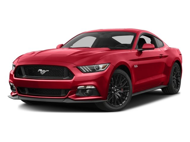 Race Red 2016 Ford Mustang Pictures Mustang Coupe 2D GT V8 photos front view