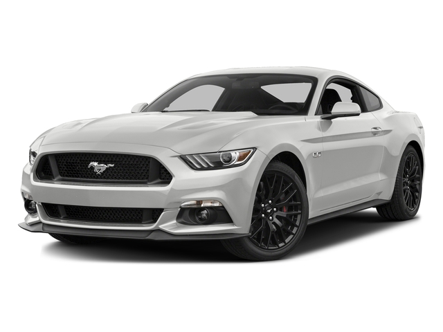 Oxford White 2016 Ford Mustang Pictures Mustang Coupe 2D GT V8 photos front view