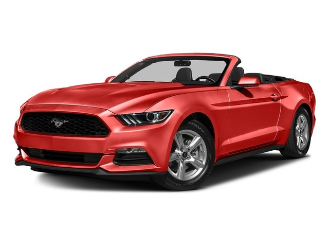 Competition Orange 2016 Ford Mustang Pictures Mustang Convertible 2D V6 photos front view