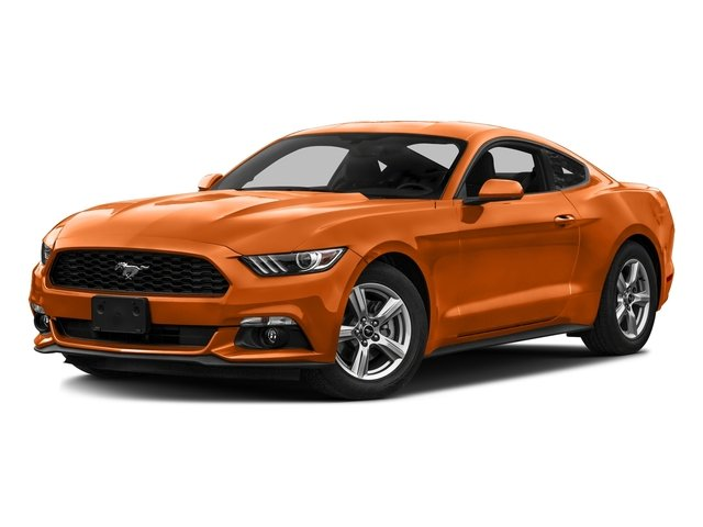 Competition Orange 2016 Ford Mustang Pictures Mustang Coupe 2D EcoBoost Premium I4 Turbo photos front view
