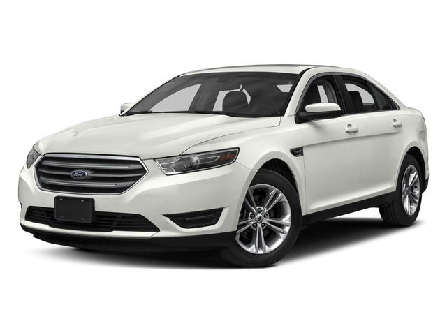 White Platinum Metallic Tri-Coat 2016 Ford Taurus Pictures Taurus Sedan 4D SEL EcoBoost I4 Turbo photos front view