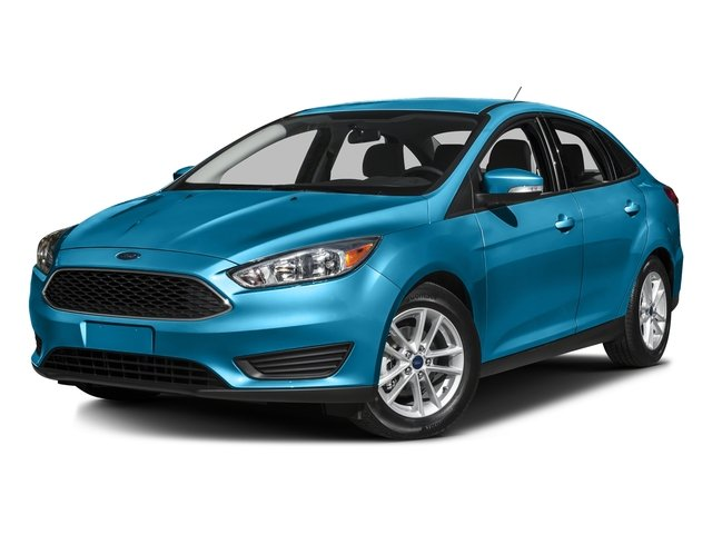 Blue Candy Metallic Tinted Clearcoat 2016 Ford Focus Pictures Focus Sedan 4D SE EcoBoost I3 Turbo photos front view