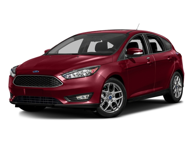 Ruby Red Metallic Tinted Clearcoat 2016 Ford Focus Pictures Focus Hatchback 5D SE I4 photos front view