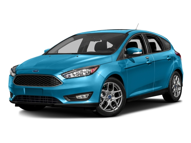Blue Candy Metallic Tinted Clearcoat 2016 Ford Focus Pictures Focus Hatchback 5D SE EcoBoost I3 Turbo photos front view