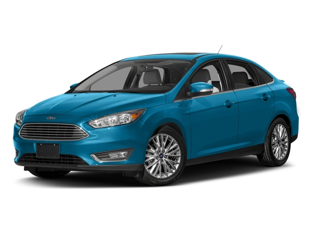 Blue Candy Metallic Tinted Clearcoat 2016 Ford Focus Pictures Focus Sedan 4D Titanium I4 photos front view