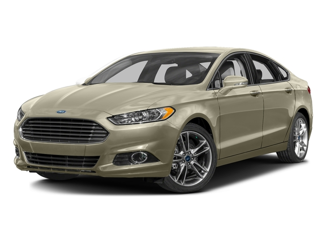 Tectonic 2016 Ford Fusion Pictures Fusion Sedan 4D Titanium AWD I4 Turbo photos front view