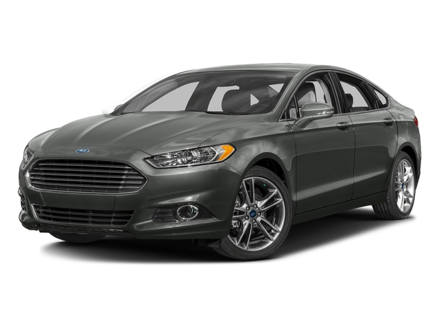 Magnetic 2016 Ford Fusion Pictures Fusion Sedan 4D Titanium AWD I4 Turbo photos front view