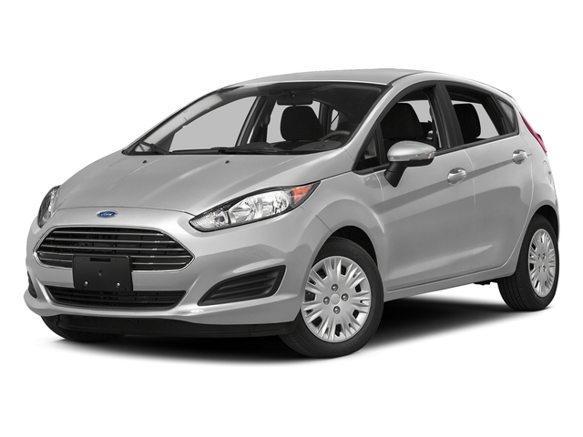 Ingot Silver Metallic 2016 Ford Fiesta Pictures Fiesta Hatchback 5D SE EcoBoost I3 Turbo photos front view