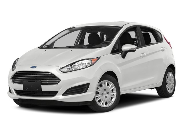 Oxford White 2016 Ford Fiesta Pictures Fiesta Hatchback 5D SE EcoBoost I3 Turbo photos front view