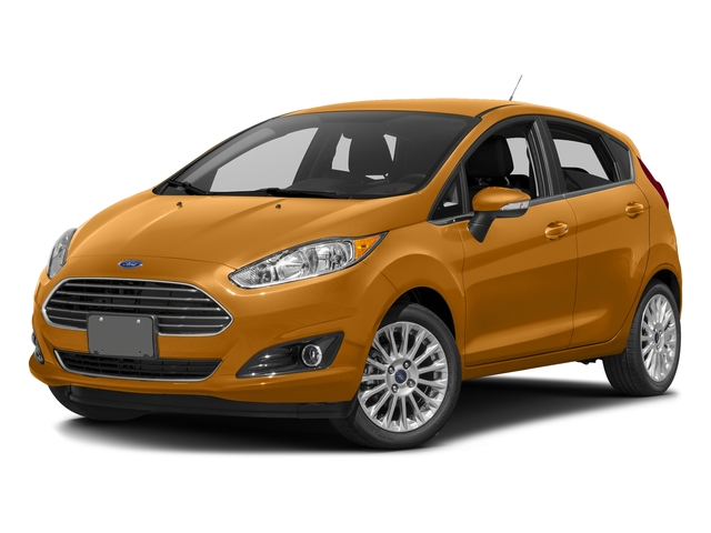 Electric Spice Metallic 2016 Ford Fiesta Pictures Fiesta Hatchback 5D Titanium I4 photos front view