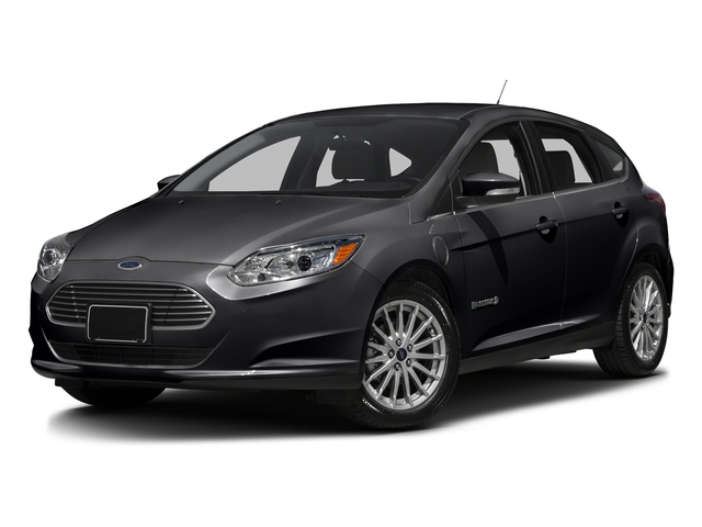 Shadow Black 2016 Ford Focus Electric Pictures Focus Electric Hatchback 5D Electric photos front view