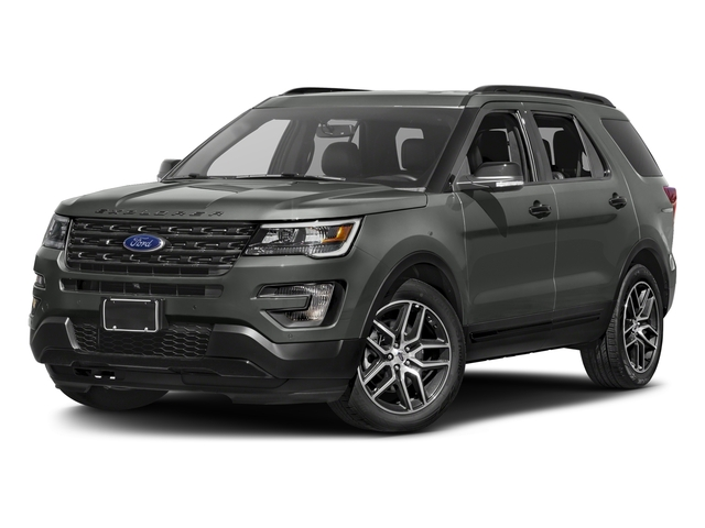 Magnetic Metallic 2016 Ford Explorer Pictures Explorer Utility 4D Sport 4WD V6 photos front view
