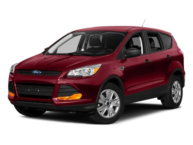 Ruby Red Metallic Tinted Clearcoat 2016 Ford Escape Pictures Escape Utility 4D SE 2WD I4 Turbo photos front view