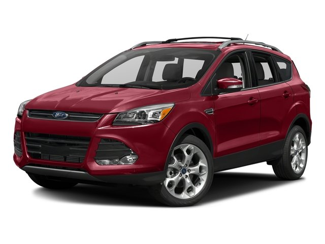 Ruby Red Metallic Tinted Clearcoat 2016 Ford Escape Pictures Escape Utility 4D Titanium 2WD I4 Turbo photos front view