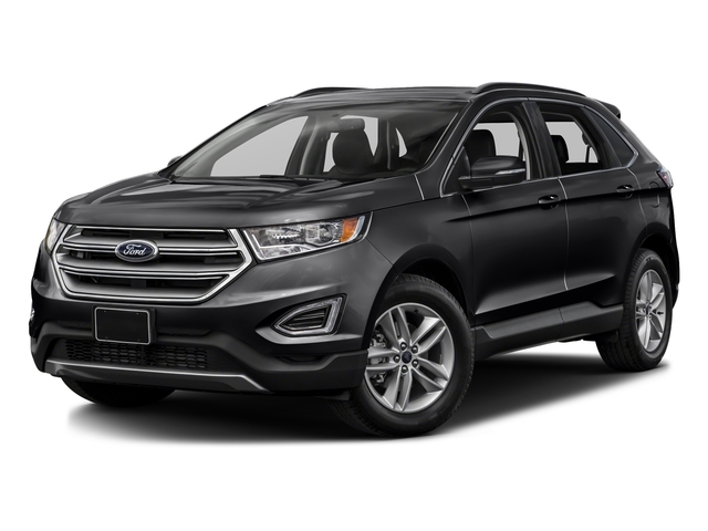 Shadow Black 2016 Ford Edge Pictures Edge Utility 4D SEL 2WD V6 photos front view
