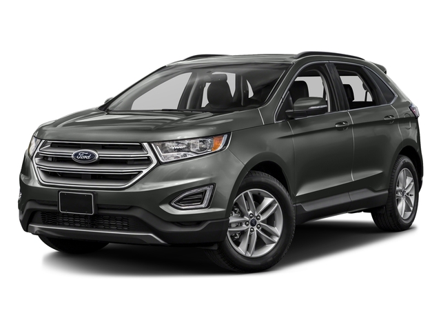 Magnetic Metallic 2016 Ford Edge Pictures Edge Utility 4D SEL 2WD V6 photos front view