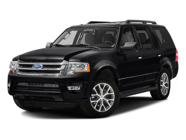 Shadow Black 2016 Ford Expedition Pictures Expedition Utility 4D XLT 4WD V6 Turbo photos front view