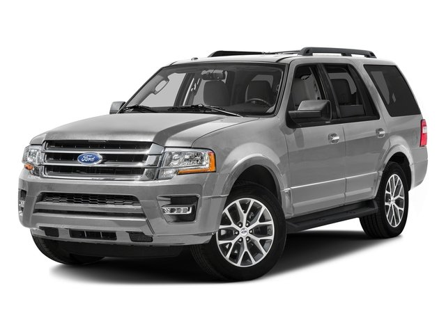 Ingot Silver Metallic 2016 Ford Expedition Pictures Expedition Utility 4D XLT 4WD V6 Turbo photos front view