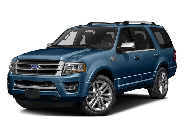 Blue Jeans Metallic 2016 Ford Expedition Pictures Expedition Utility 4D King Ranch 4WD V6 Turbo photos front view