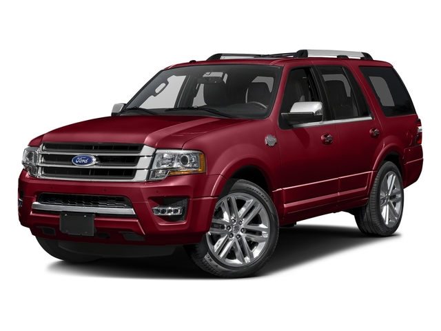 Ruby Red Metallic Tinted Clearcoat 2016 Ford Expedition Pictures Expedition Utility 4D King Ranch 4WD V6 Turbo photos front view