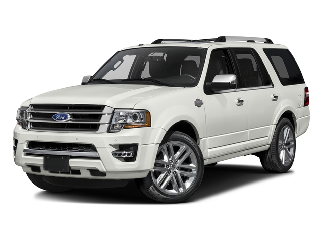White Platinum Metallic Tri-Coat 2016 Ford Expedition Pictures Expedition Utility 4D King Ranch 4WD V6 Turbo photos front view