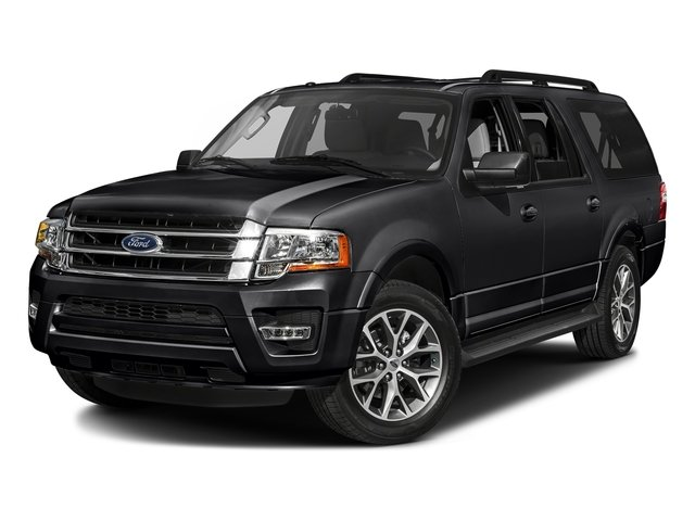 Shadow Black 2016 Ford Expedition EL Pictures Expedition EL Utility 4D XLT 2WD V6 Turbo photos front view