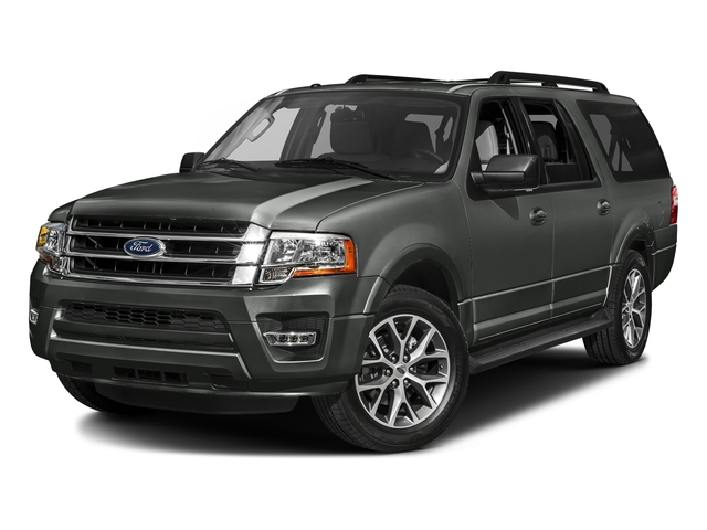 Magnetic Metallic 2016 Ford Expedition EL Pictures Expedition EL Utility 4D XLT 2WD V6 Turbo photos front view