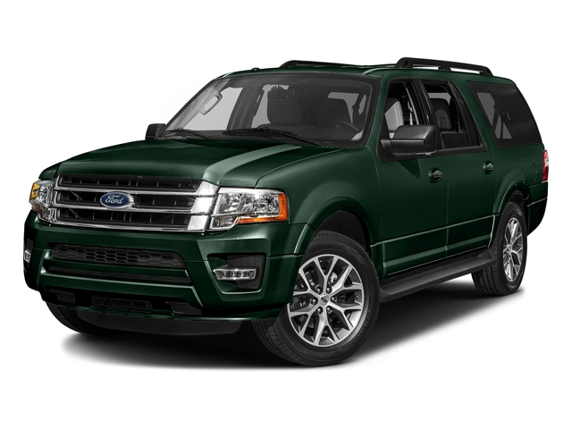 Green Gem Metallic 2016 Ford Expedition EL Pictures Expedition EL Utility 4D XLT 2WD V6 Turbo photos front view
