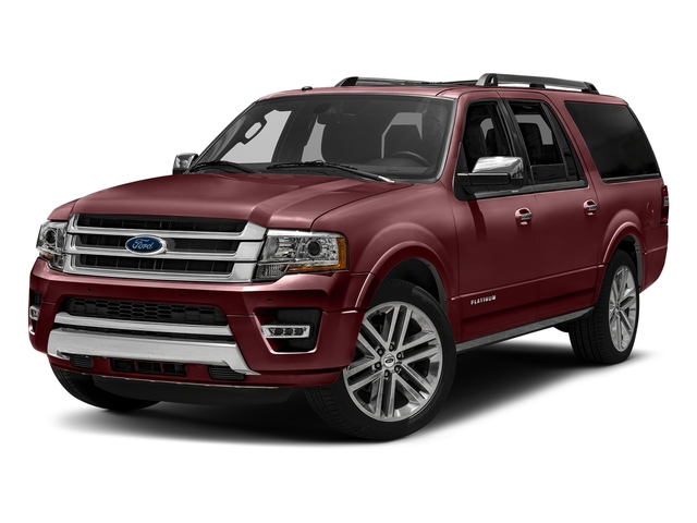 Bronze Fire Metallic 2016 Ford Expedition EL Pictures Expedition EL Utility 4D Platinum 4WD V6 Turbo photos front view